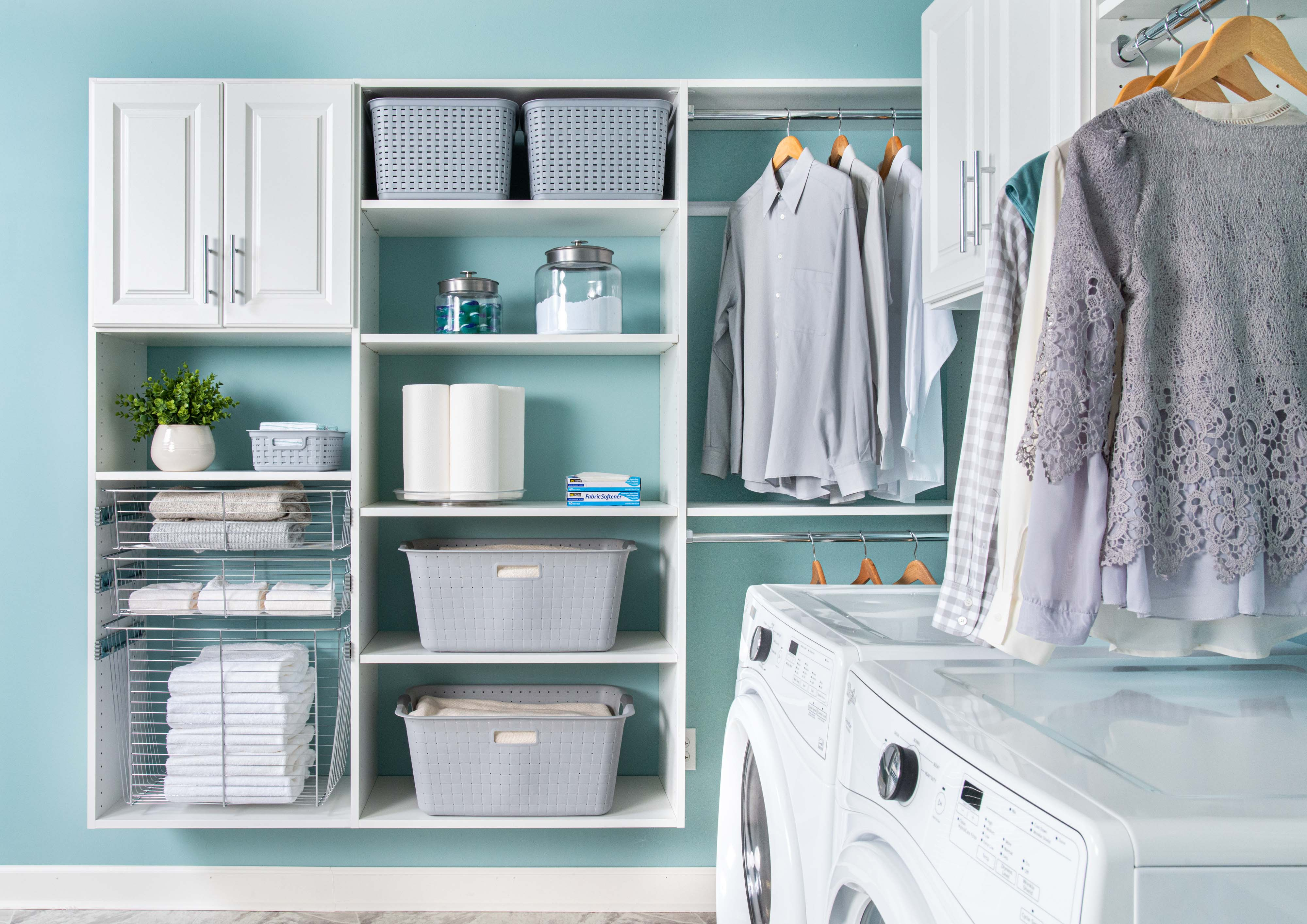 How To Organize A Laundry Roompantry