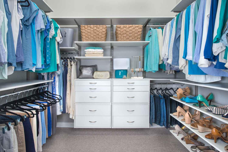 Organized Living – Closet for Bedroom