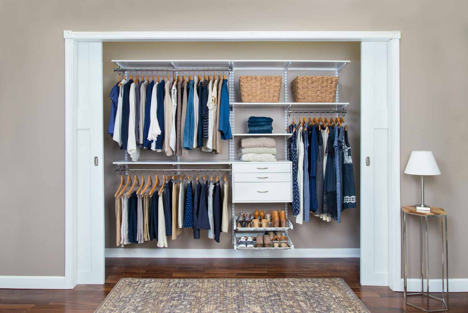 Organized Living | Bedroom Closets