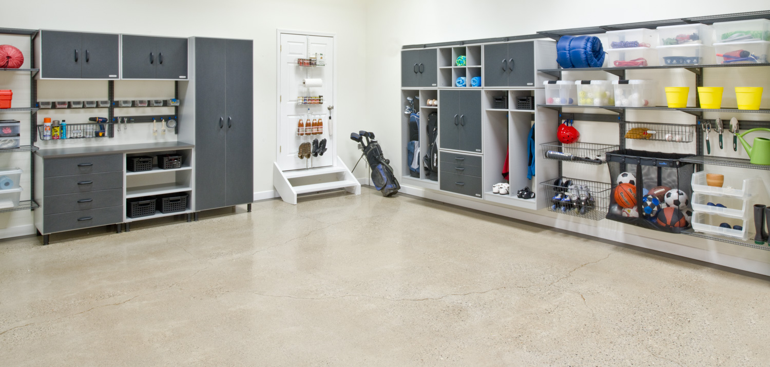 Organized Living Garage Storage