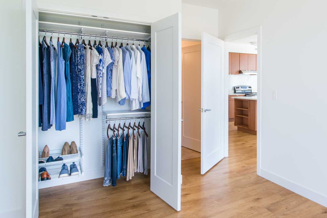 Organized Living Closets And Storage For Multifamily