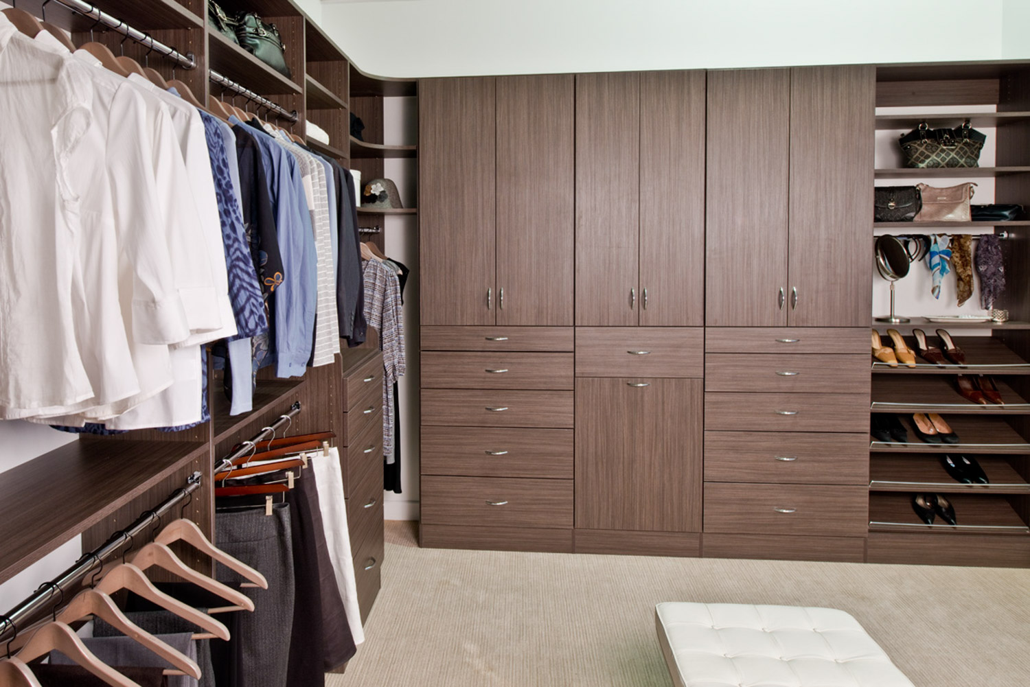 Organized living closet organizers for every space in your home 12 more solutioingenieria Choice Image