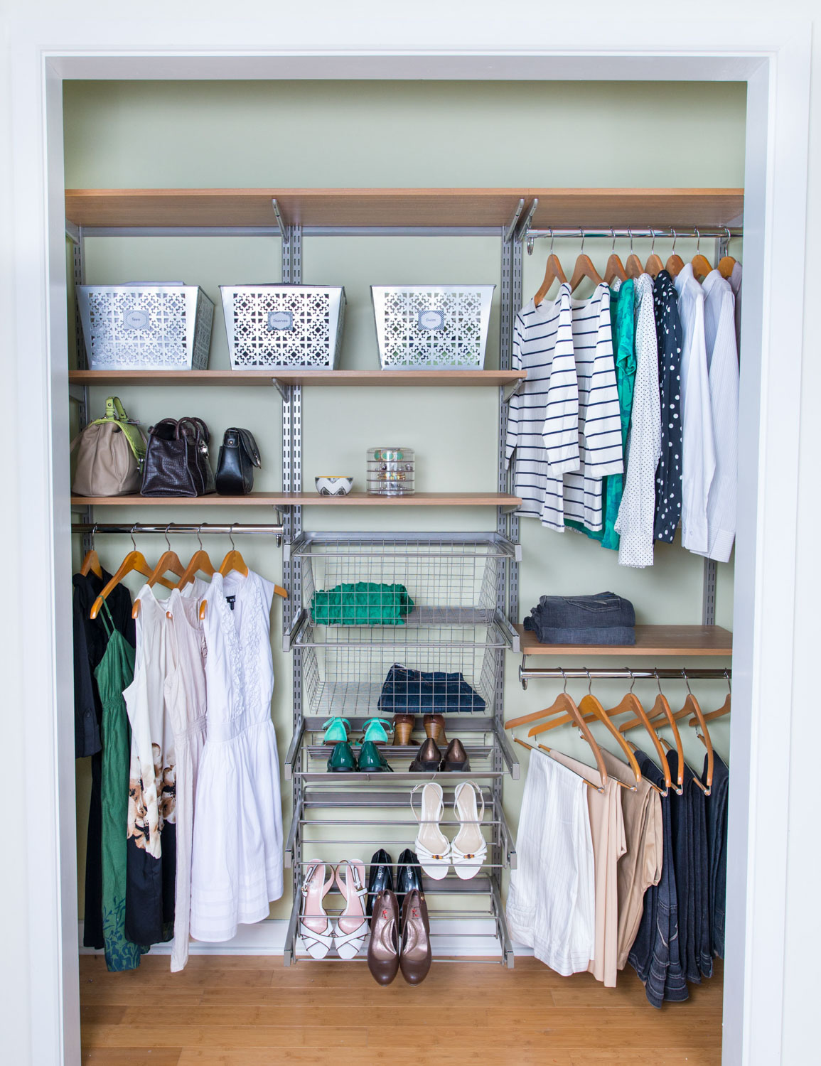 organiser on closet pinterest foto best images excellent closets organizer infant nursery baby organisation ideas