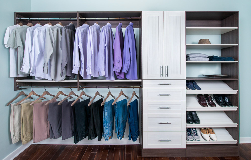 Organized Living Bedroom Closets Fascinating Bedroom Closets Design