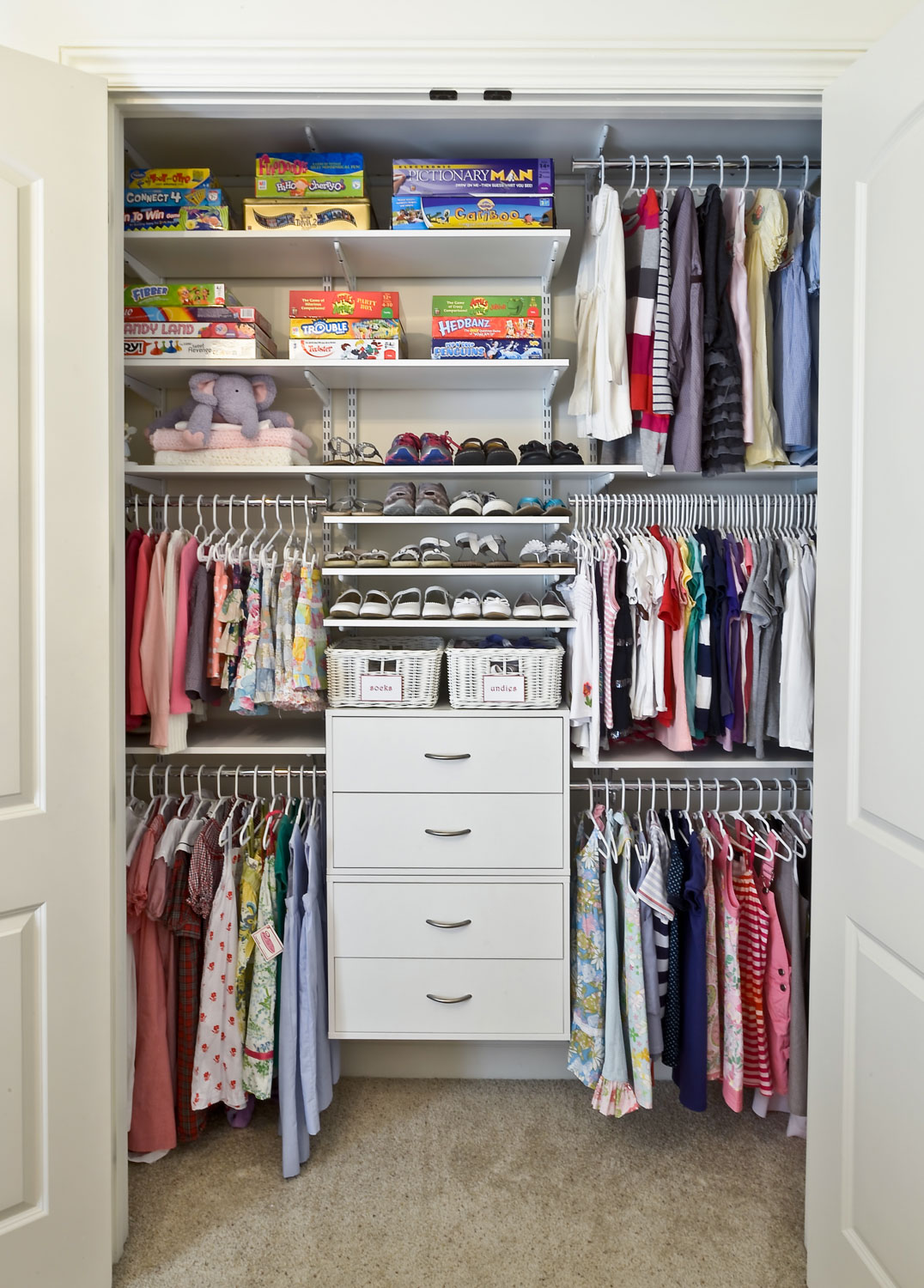 Superb Kids Closet Organization Ideas Part - 5: Organized Living