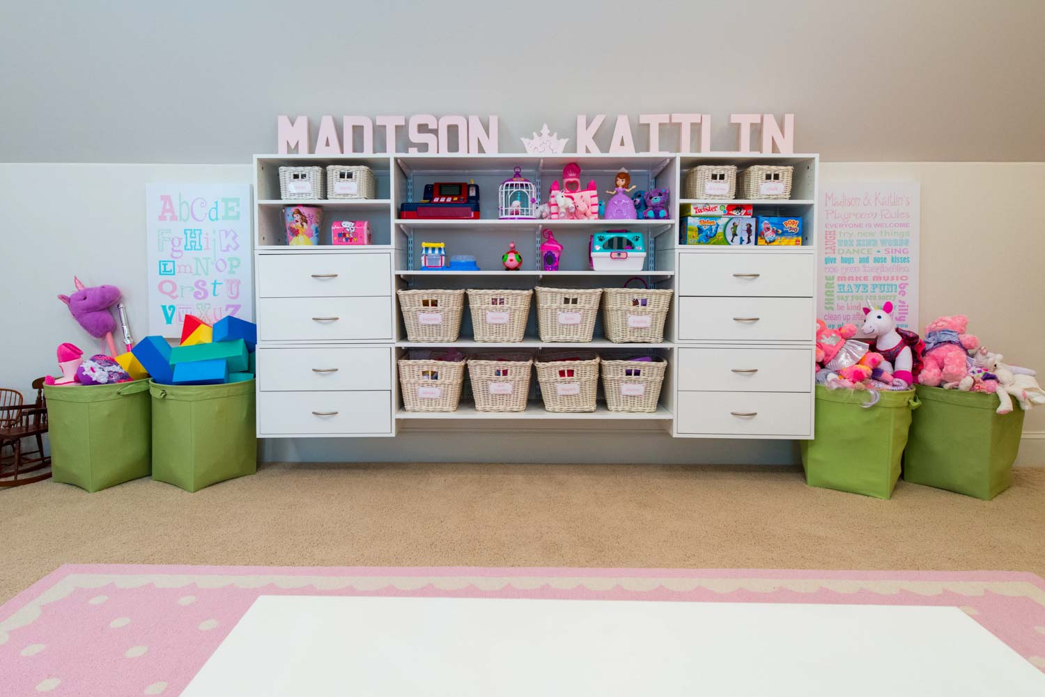 Organized living kids closets and storage for Organized kids rooms